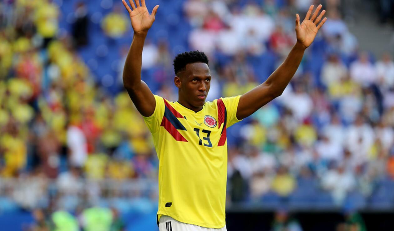 Yerry Mina fue una de las figuras de la Selección Colombia en Rusia 2018