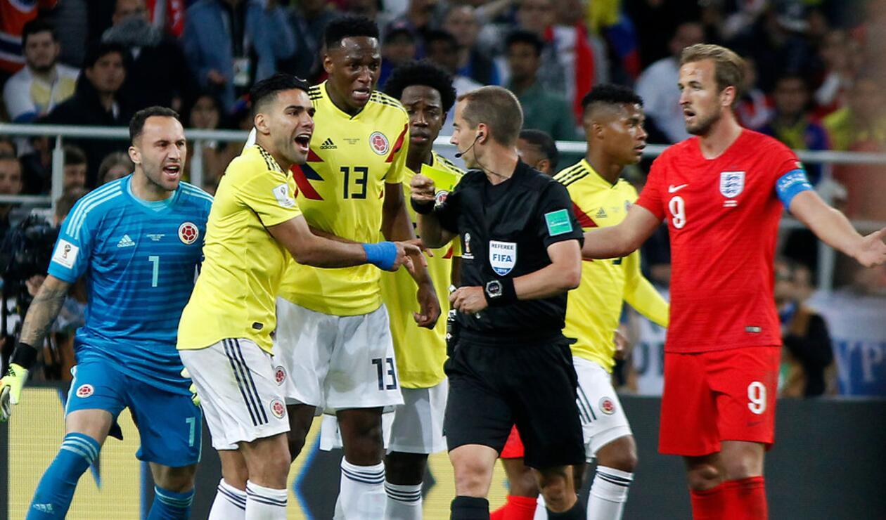 La Selección Colombia quedó eliminada ante Inglaterra en Rusia 2018