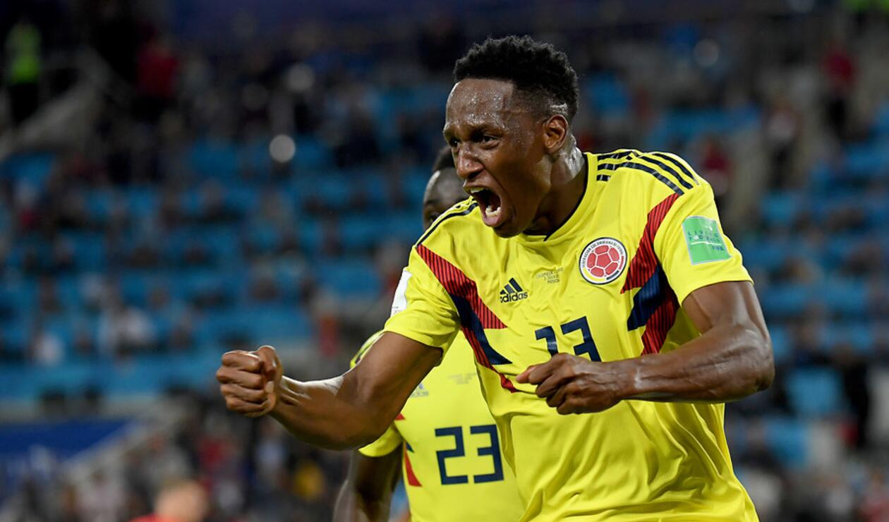 Yerry Mina fue una de las figuras de Colombia en Rusia 2018