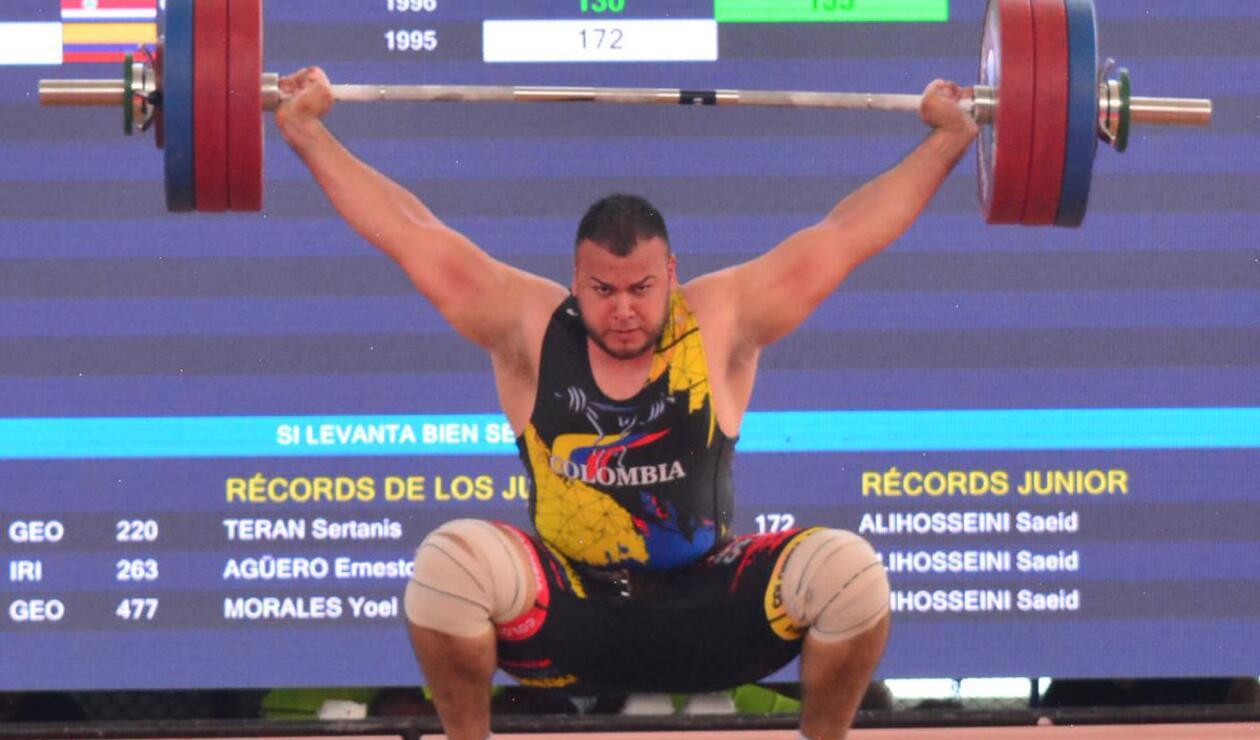 Santiago Cossio ganó medalla de oro para Colombia en Levantamiento de Pesas