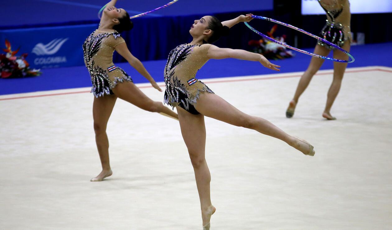 Costa Rica también se lució en la gimnasia rítmica durante los Centroamericanos 2018