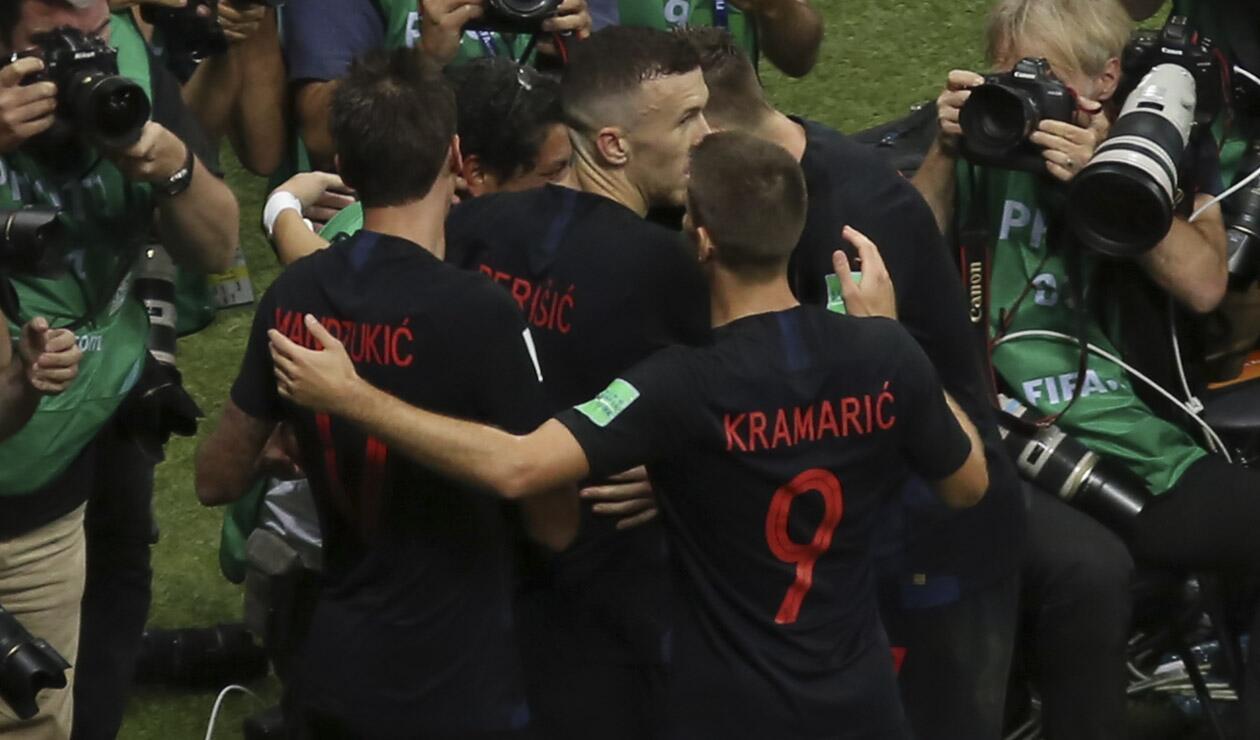Croacia derrotó a Inglaterra