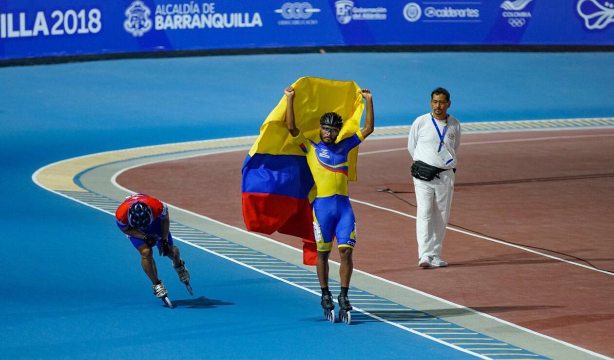 Cujavante se coronó con la medalla de oro en la categoría de 10000 eliminación