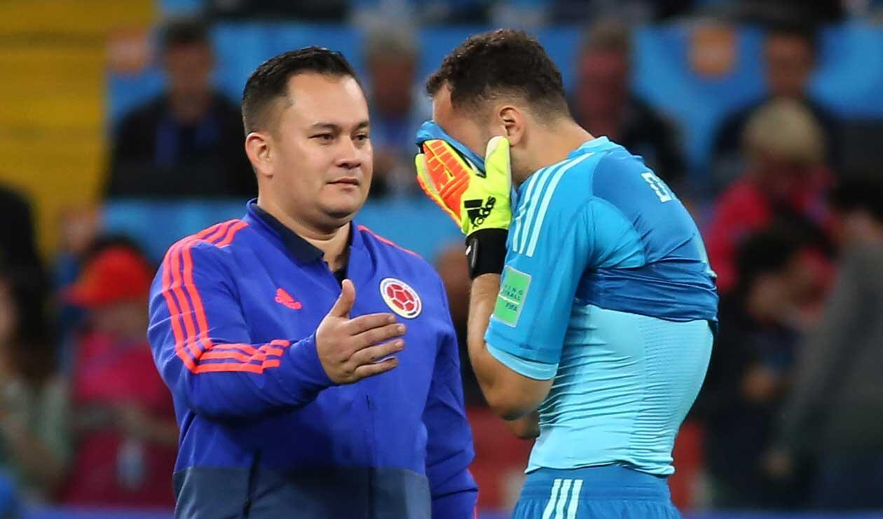 David Ospina lamenta la eliminación de Colombia ante Inglaterra