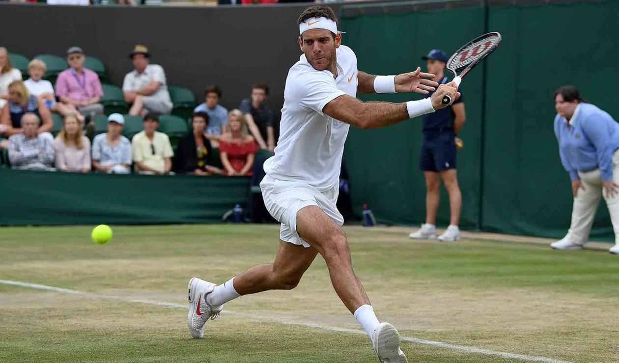 Juan Martín Del Potro Wimbledon 2018