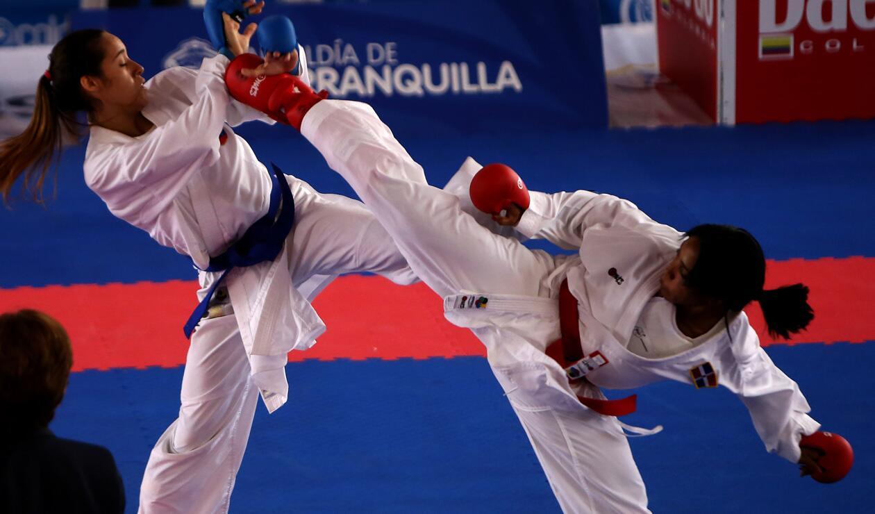 Claudymar Garcés Venezuela vs Karina Díaz República Dominicana 3