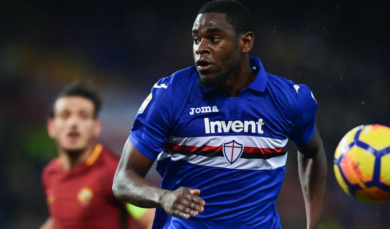 Duván Zapata saldría de la Sampdoria camino al Atalanta