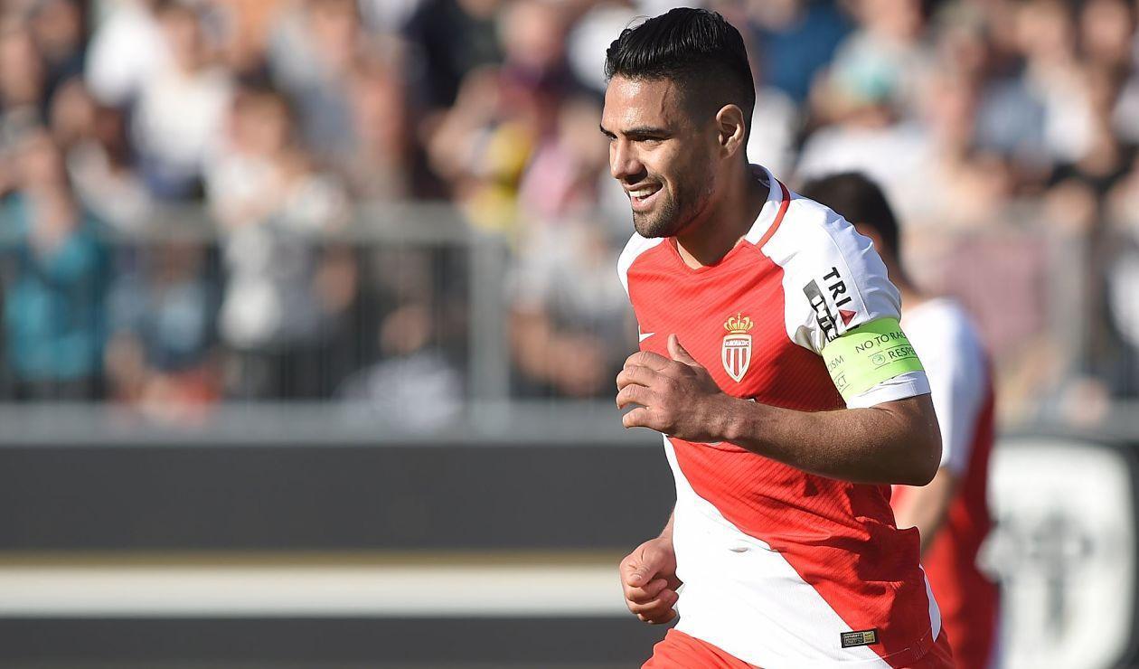 Falcao, delantero de AS Mónaco