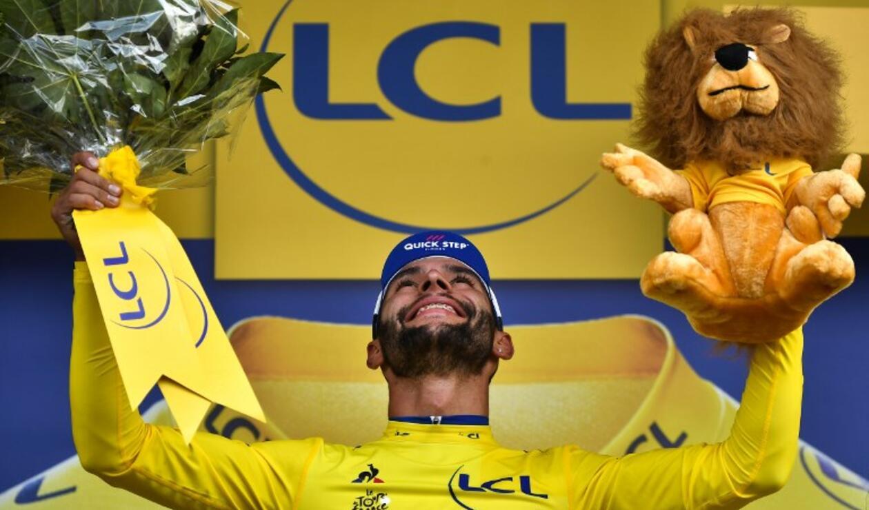 Con su victoria, Gaviria lidera la clasificación general del Tour
