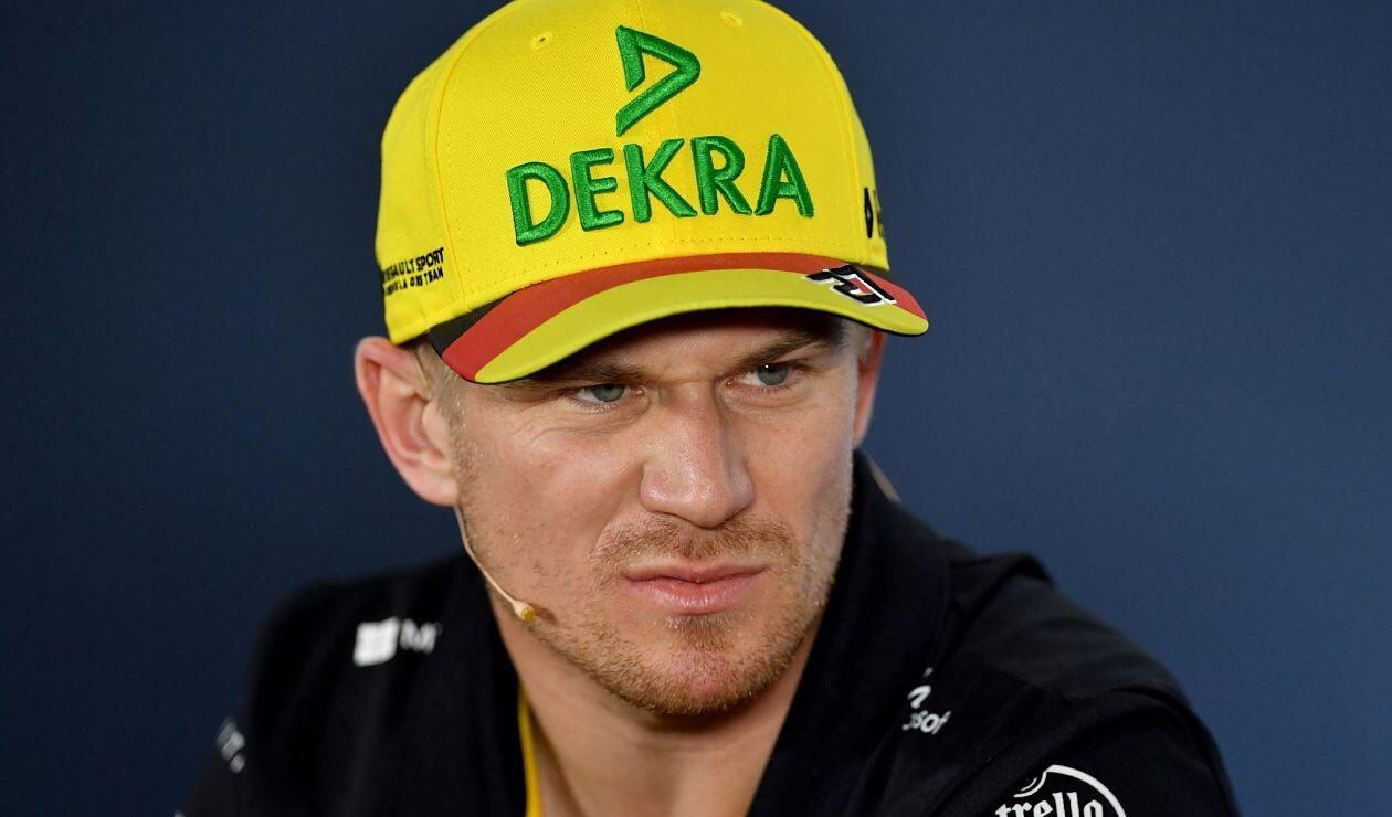 Nico Hulkenberg, piloto de Renault, en rueda de prensa previo al Gran Premio de Alemania