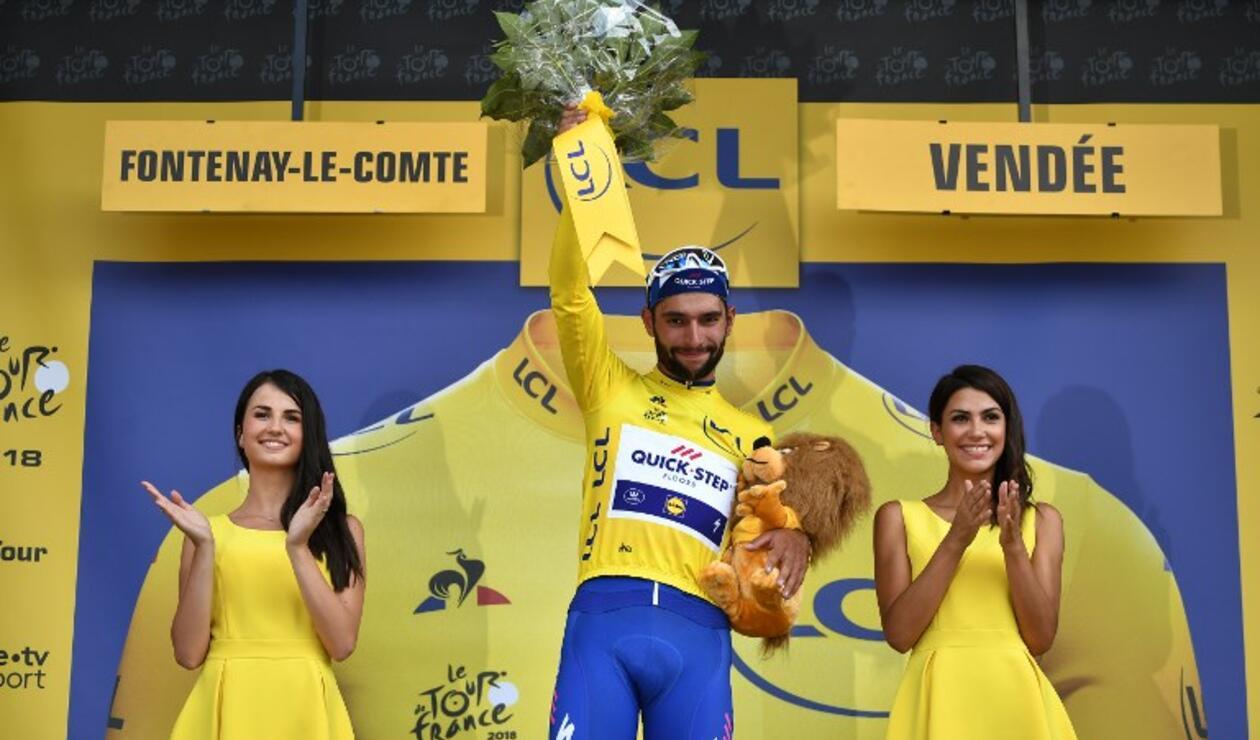 El colombiano se instaló en lo más alto del podio francés