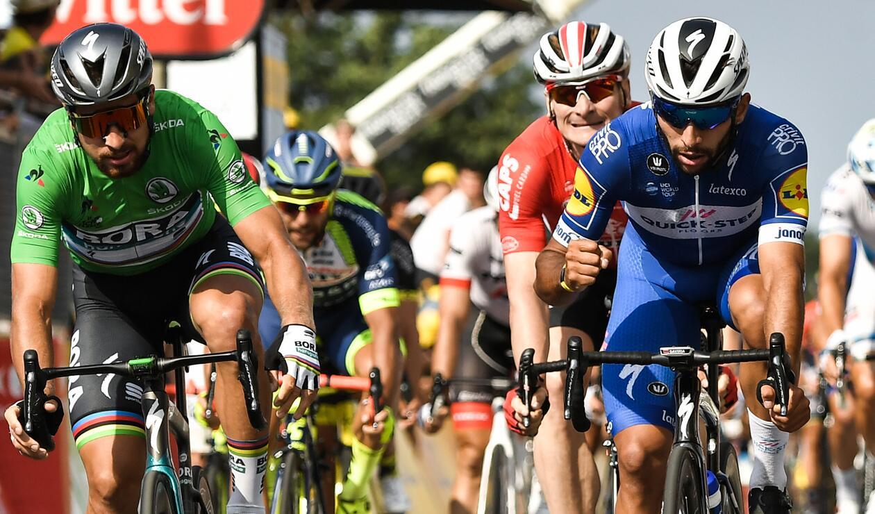 Tour de Francia: última oportunidad para Gaviria y Sagan antes de la llegada de la alta montaña