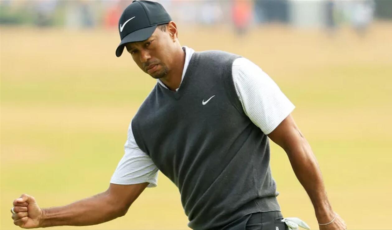 Tiger Woods Abierto Británico de Golf