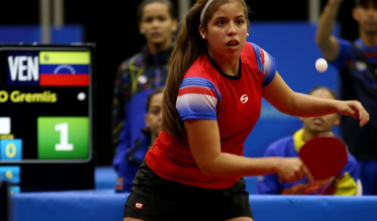 Gremlis Arévalo - Tenis de Mesa (Venezuela)