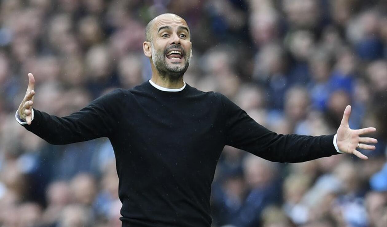 Guardiola, técnico del Manchester City