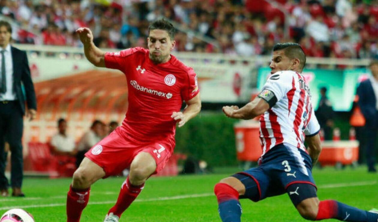 Gabriel Hauche, jugador del Toluca