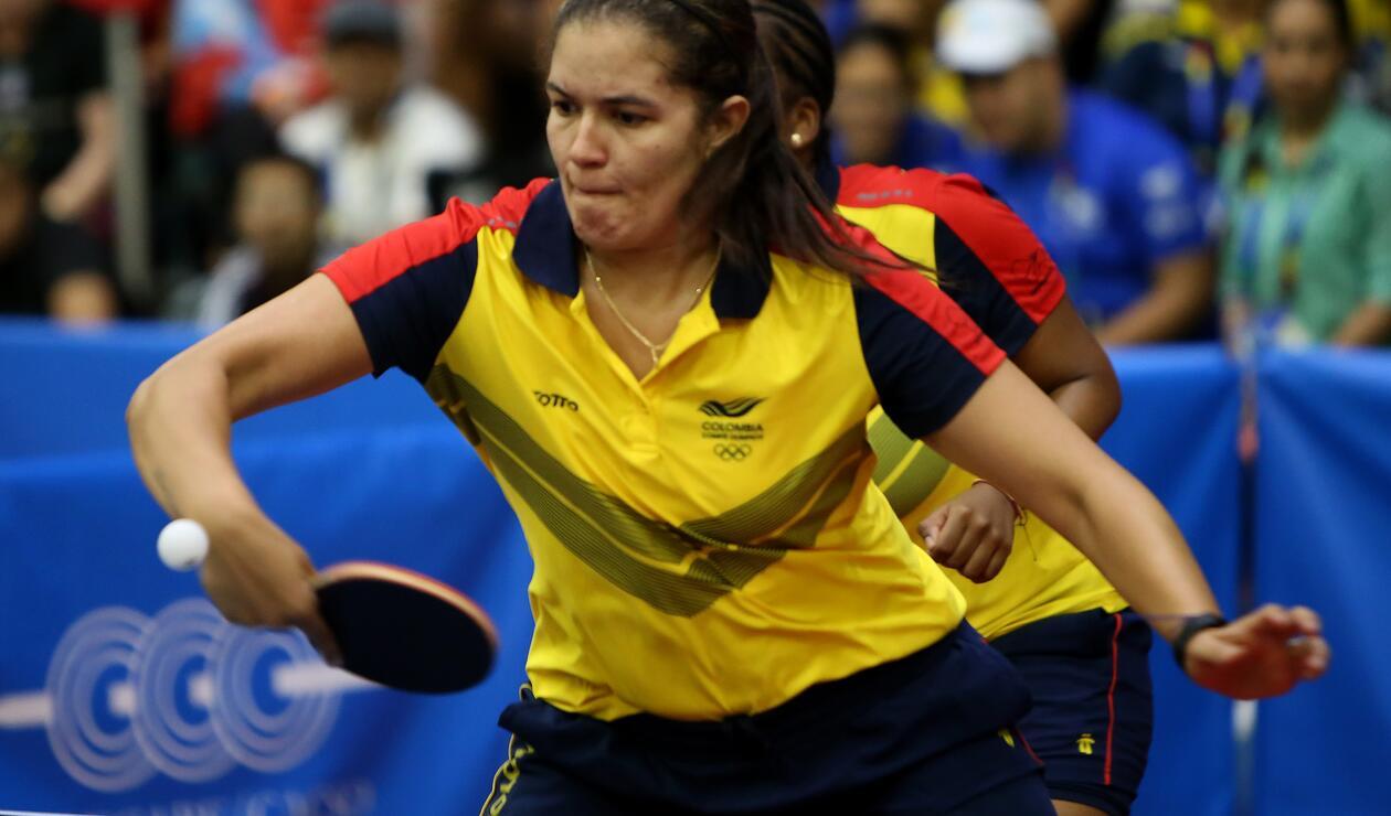 Luisa Zuluaga de Colombia - Tenis de Mesa