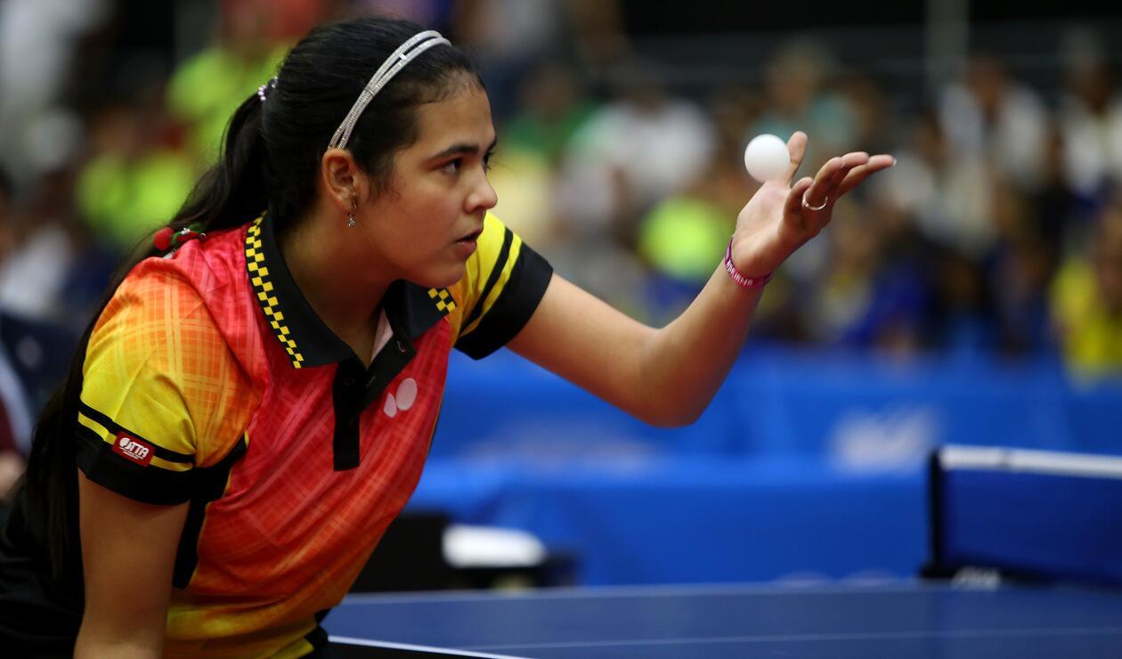 Jugadora de tenis de mesa de Puerto Rico