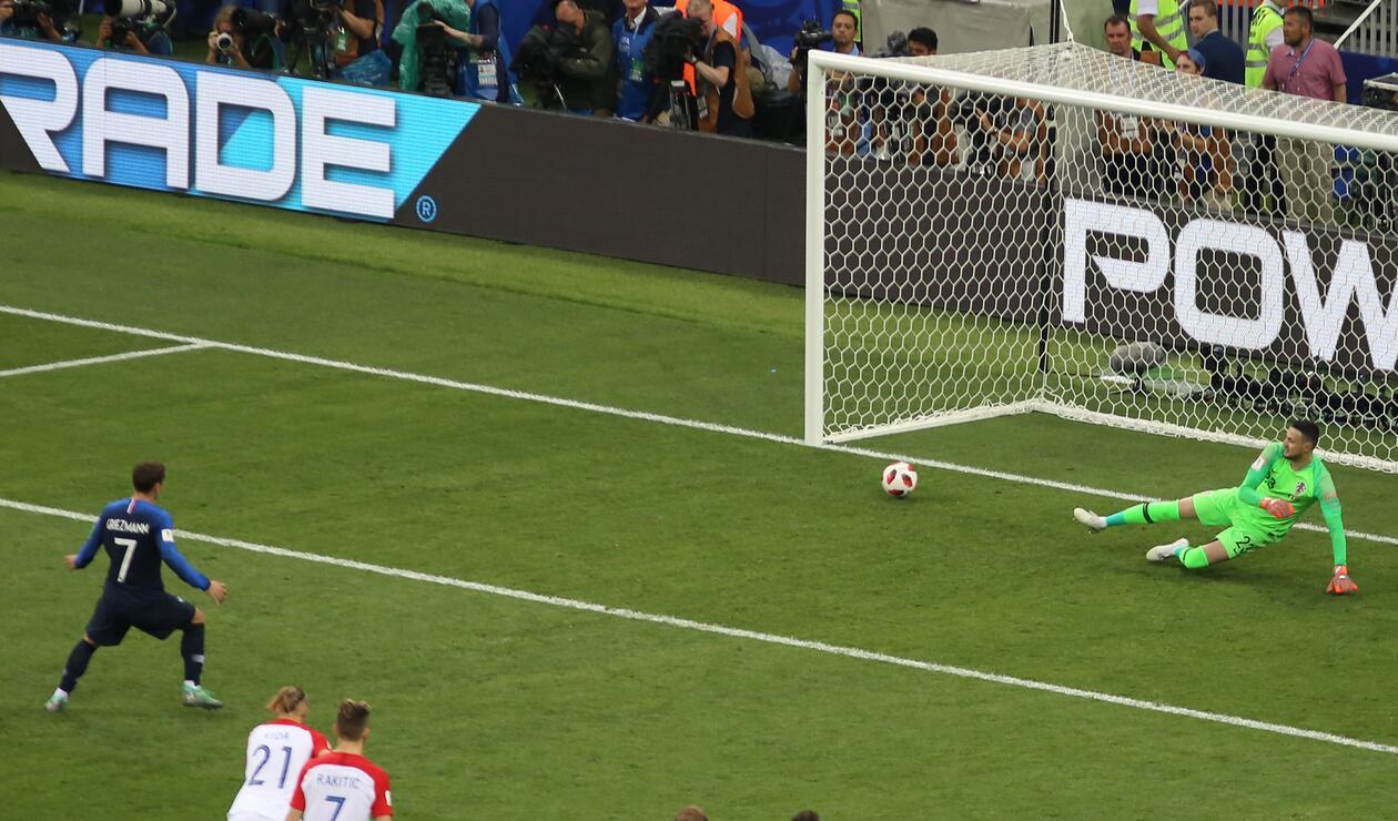 Antoine Griezmann puso el 2-1