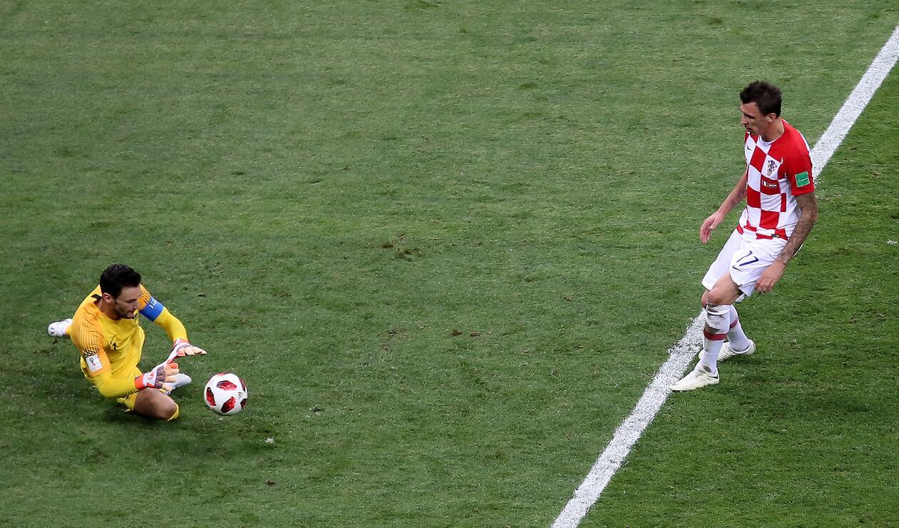 Croacia lo intentó igualar durante los 90 minutos