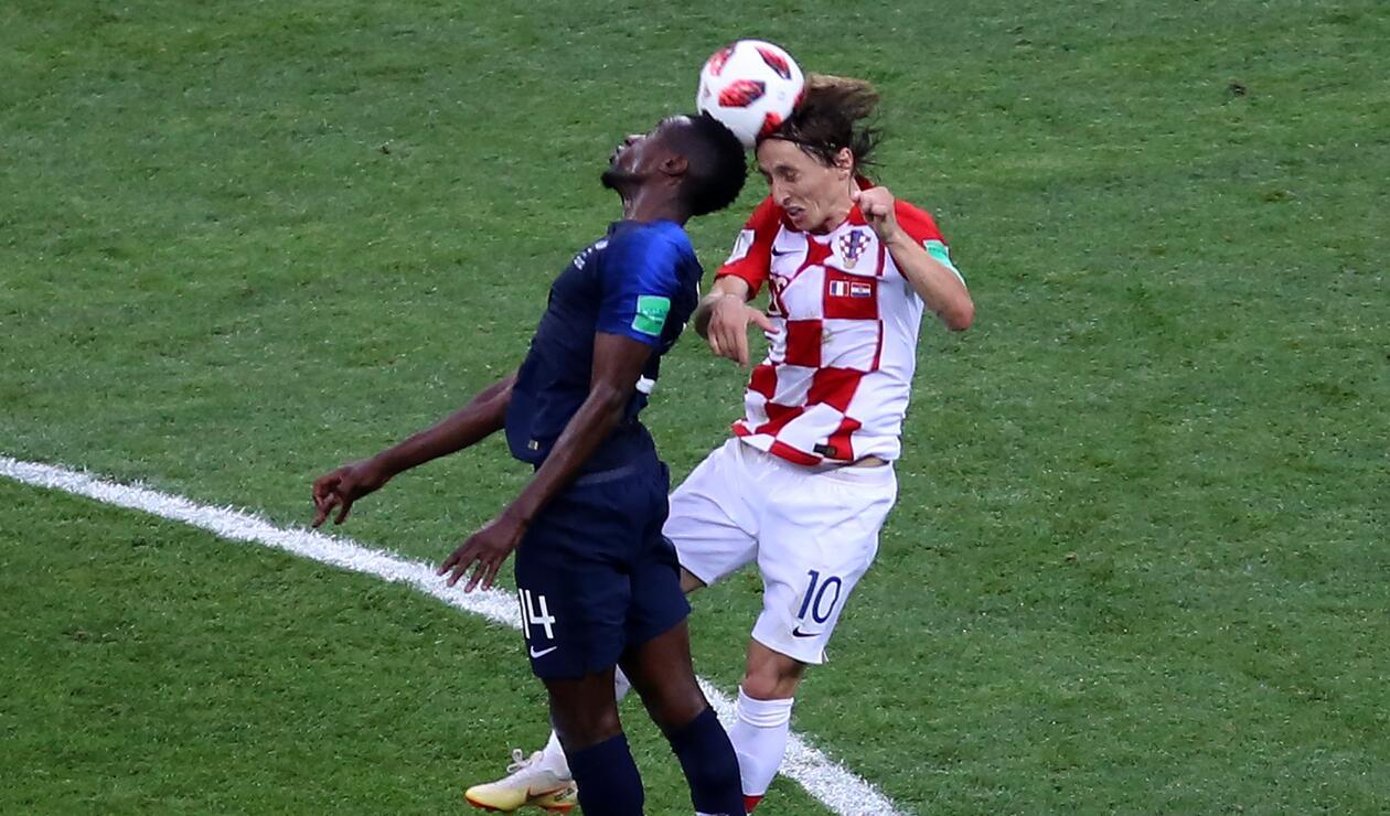 Luka Modric no pudo figurar