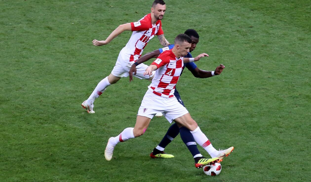 Croacia intentó siempre atacar durante el partido
