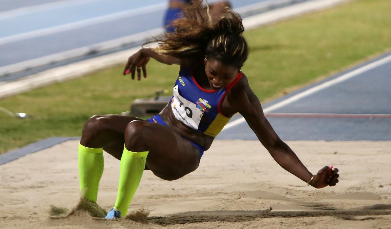 Caterine Ibargüen medalla de oro para Colombia en atletismo