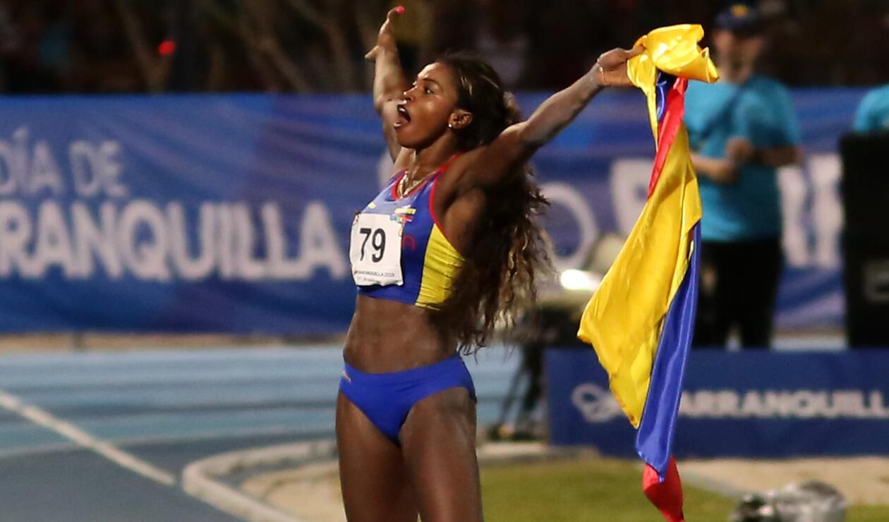 Caterine Ibargüen es la reina del salto largo en los Centroamericanos
