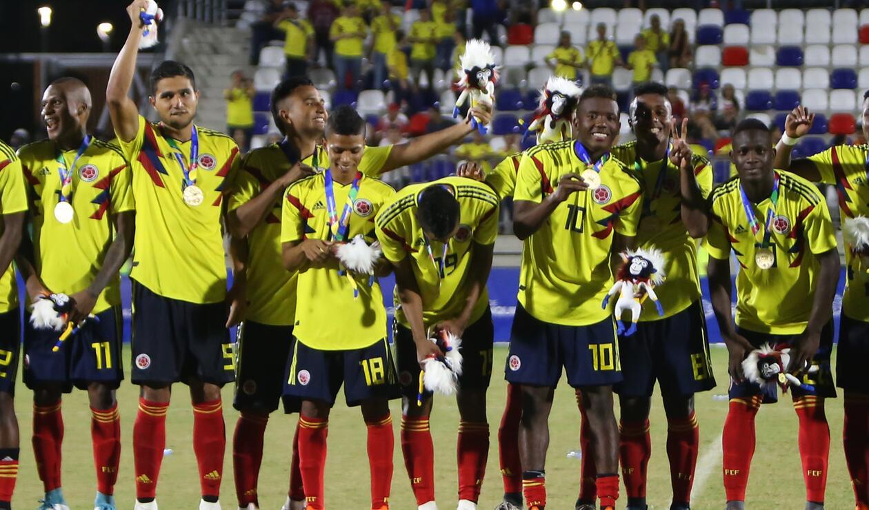 Colombia se coronó campeón centroamericano de fútbol