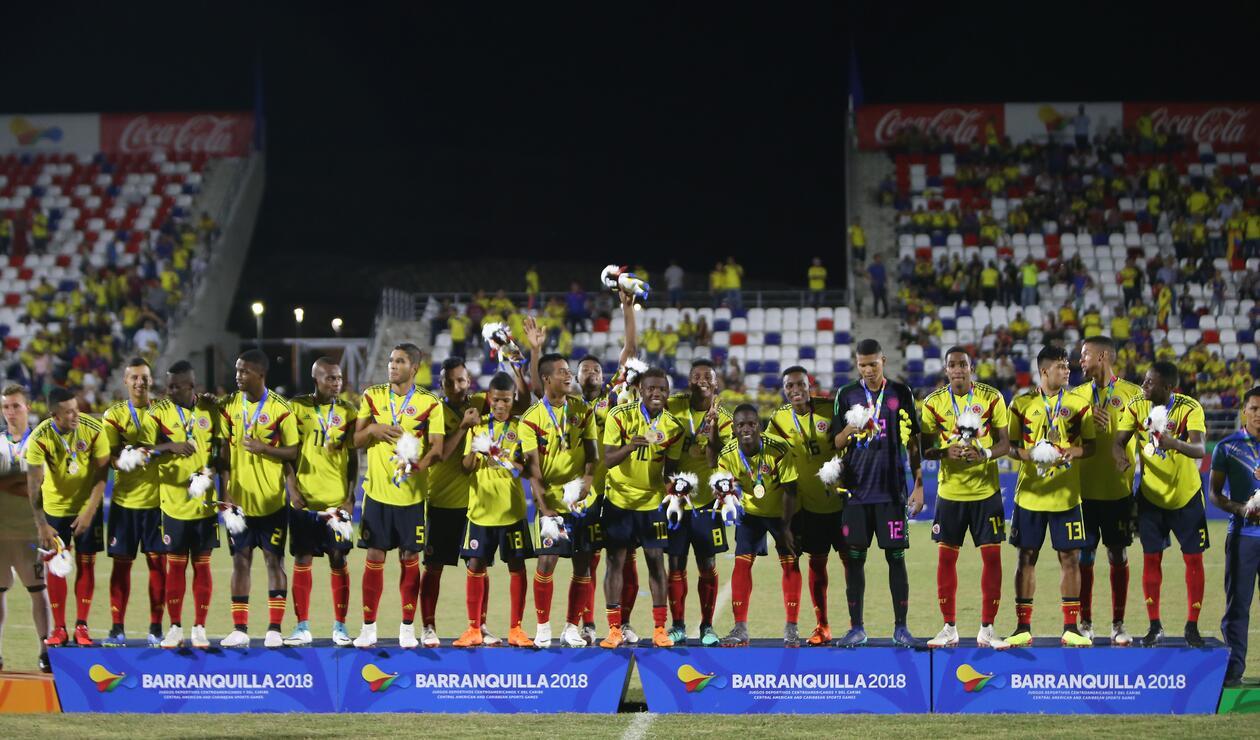 Medalla de oro para Colombia en fútbol masculino
