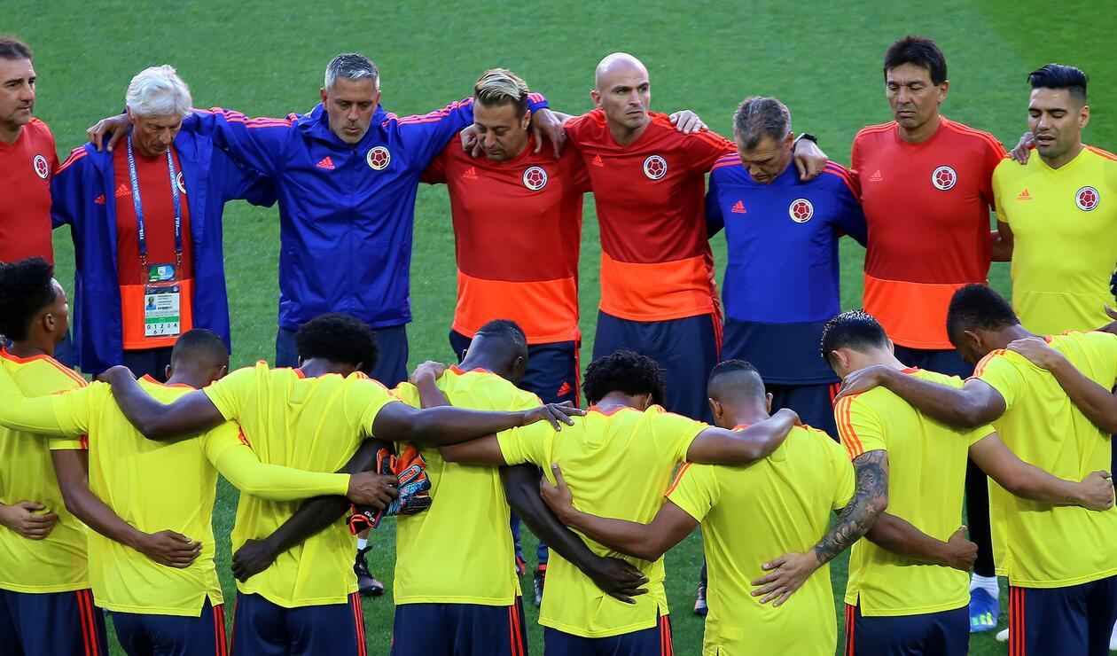 La Selección Colombia realizó su último entrenamiento para enfrentar a Inglaterra