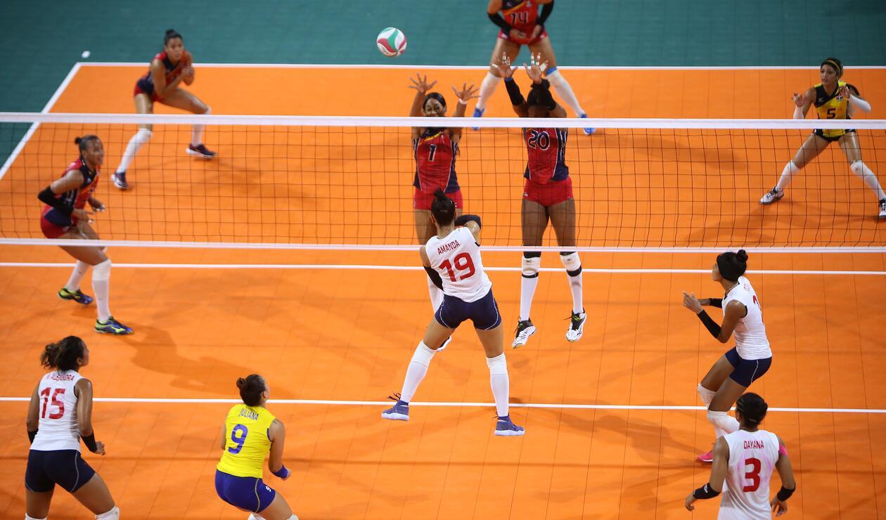 Las colombianas cumplieron un destacado papel en el voleibol femenino de los centroamericanos