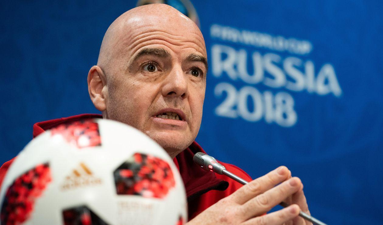 Giovanni Infantino, presidente de la FIFA