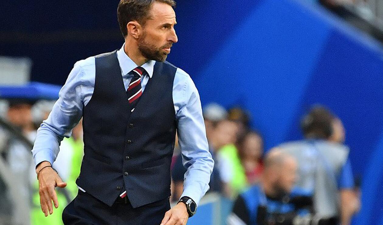 Gareth Southgate, técnico de la selección de Inglaterra