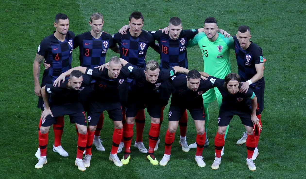 Croacia frente a Inglaterra en las semifinales del Mundial de Rusia 2018