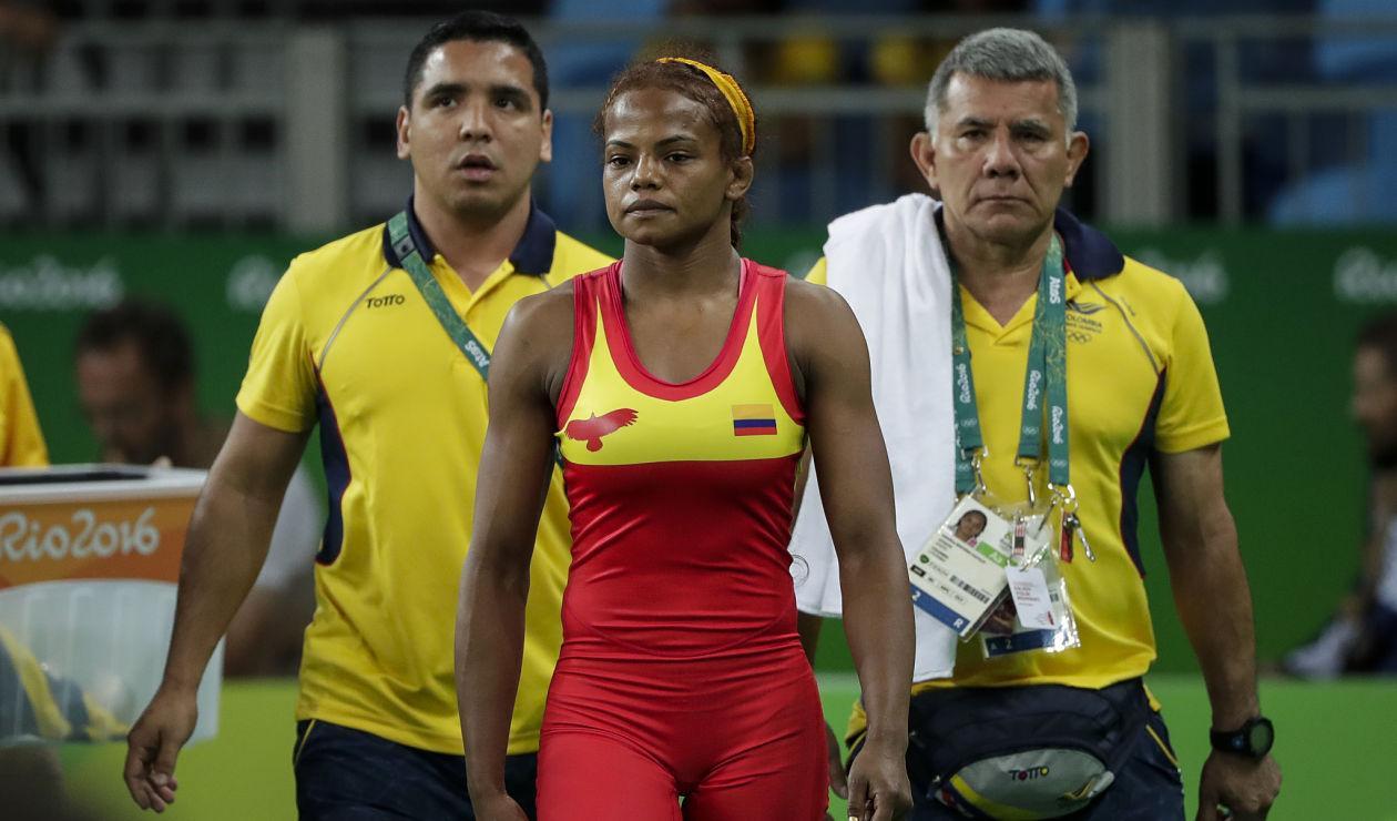 Jackeline Rentería en los Juegos Olímpicos de Rio 2016