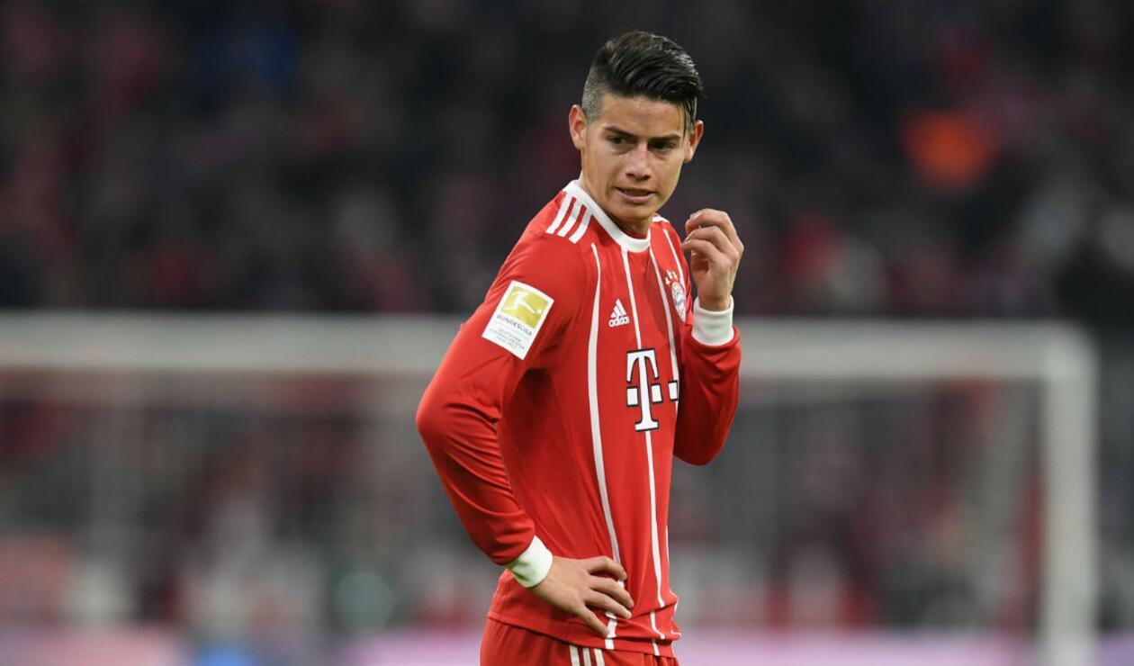 James Rogríguez tiene un año más de contrato con el Bayern Múnich