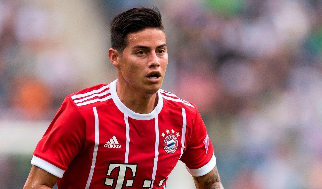 James Rodríguez seguirá en el Bayern Munich para la temporada 2018-2019
