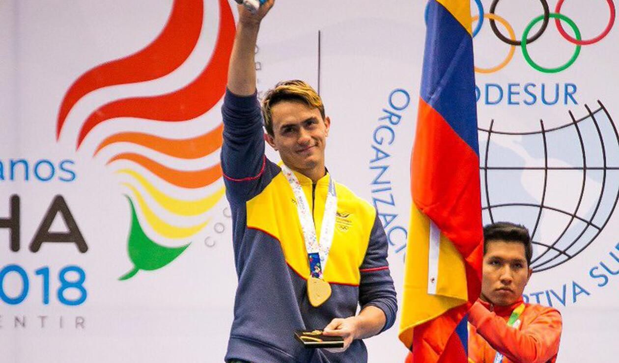 Jossimar Calvo gimnasta colombiano Cochabamba 2018