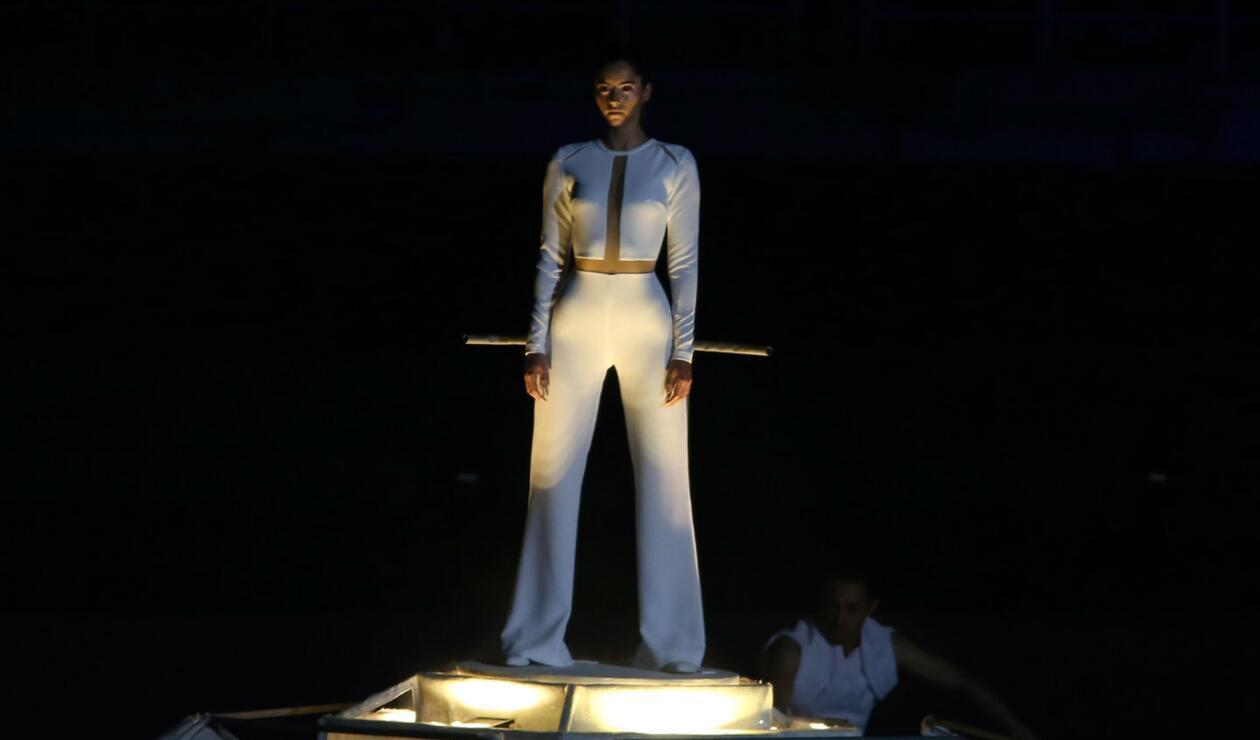 Paulina Vega en los Juegos Deportivos Centroamericanos y del Caribe Barranquilla 2018