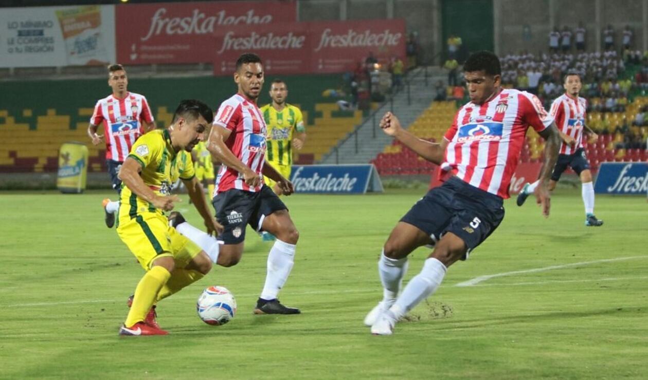 En Vivo: Bucaramanga vs Junior de Barranquilla - Liga Águila II-2018