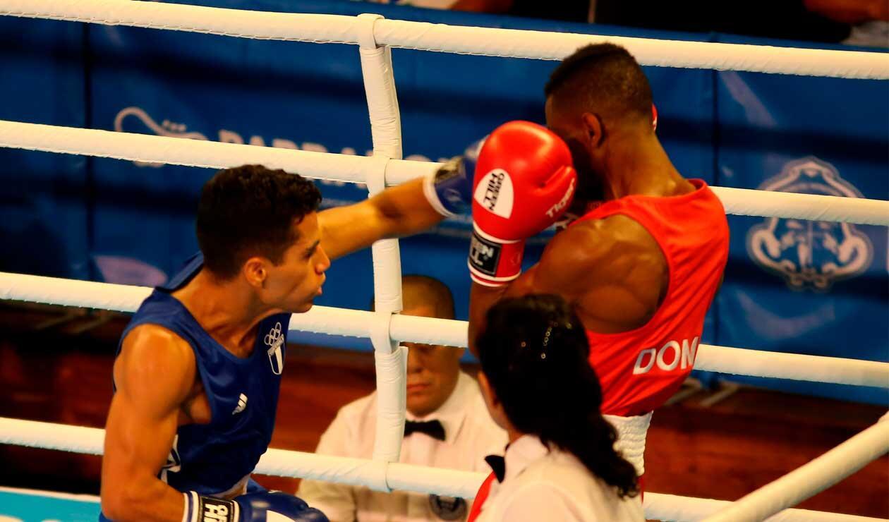 Inició el boxeo en los Juegos Centroamericanos y del Caribe Barranquilla 2018