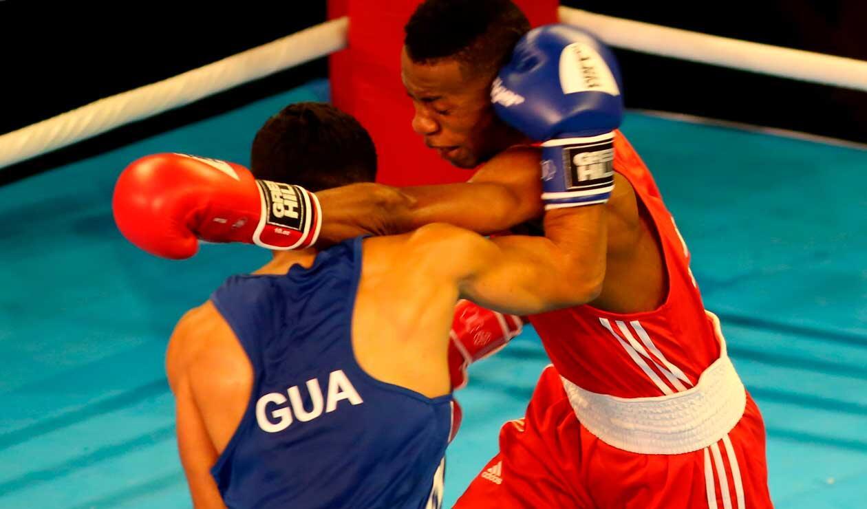 Mario Cepeda y Tello Tello de Honduras en los Juegos Centroamericanos y del Caribe Barranquilla 2018