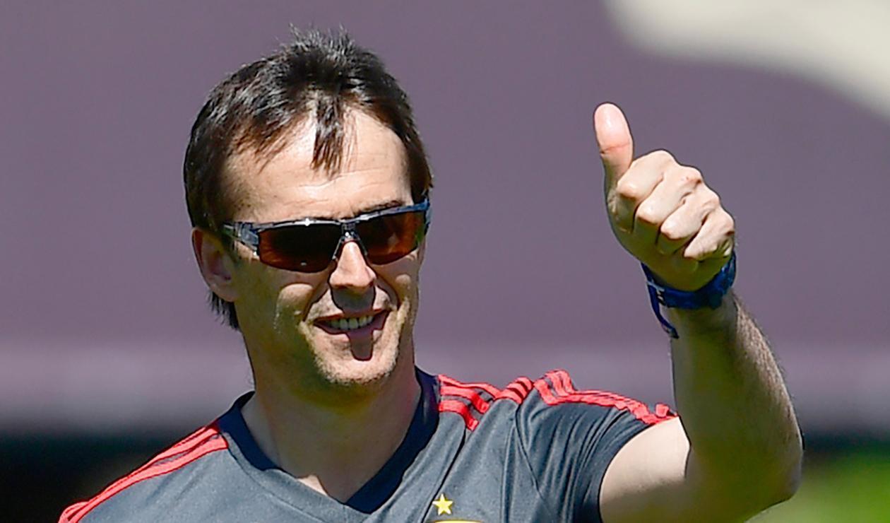 Julen Lopetegui, director técnico del Real Madrid