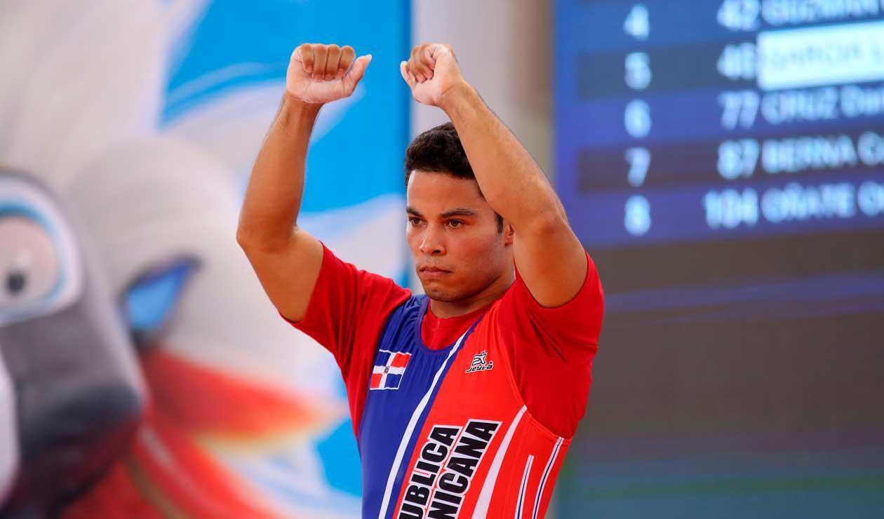 Luis García, ganador del oro para República Dominicana en los Juegos Centroamericanos y del Caribe Barranquilla 2018