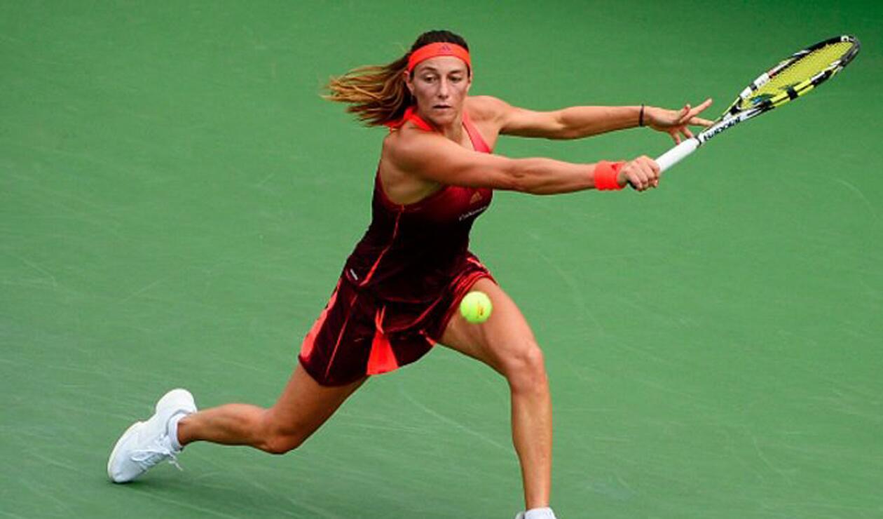 Mariana Duque eliminada en la primera ronda del WTA de Bucarest