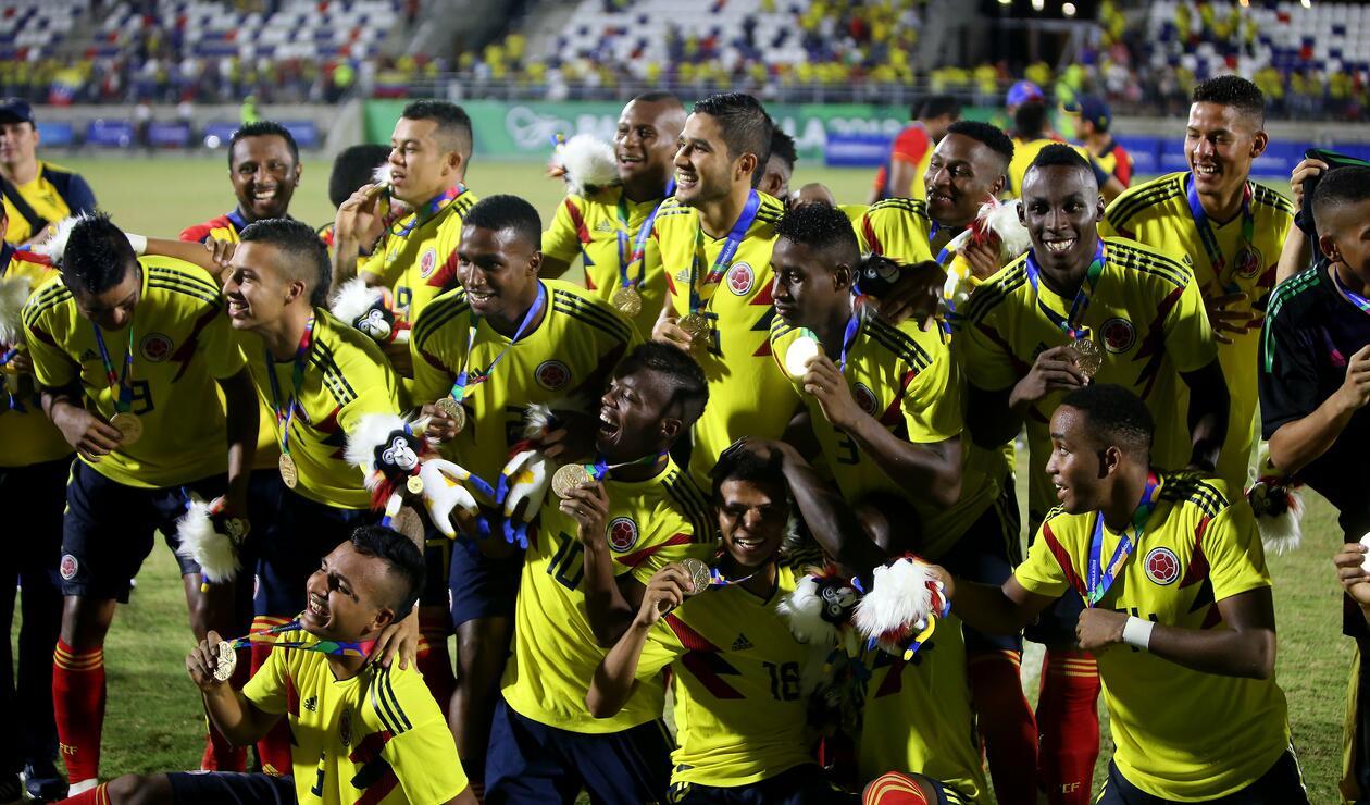 La Selección Colombia de fútbol se colgó la medalla de oro