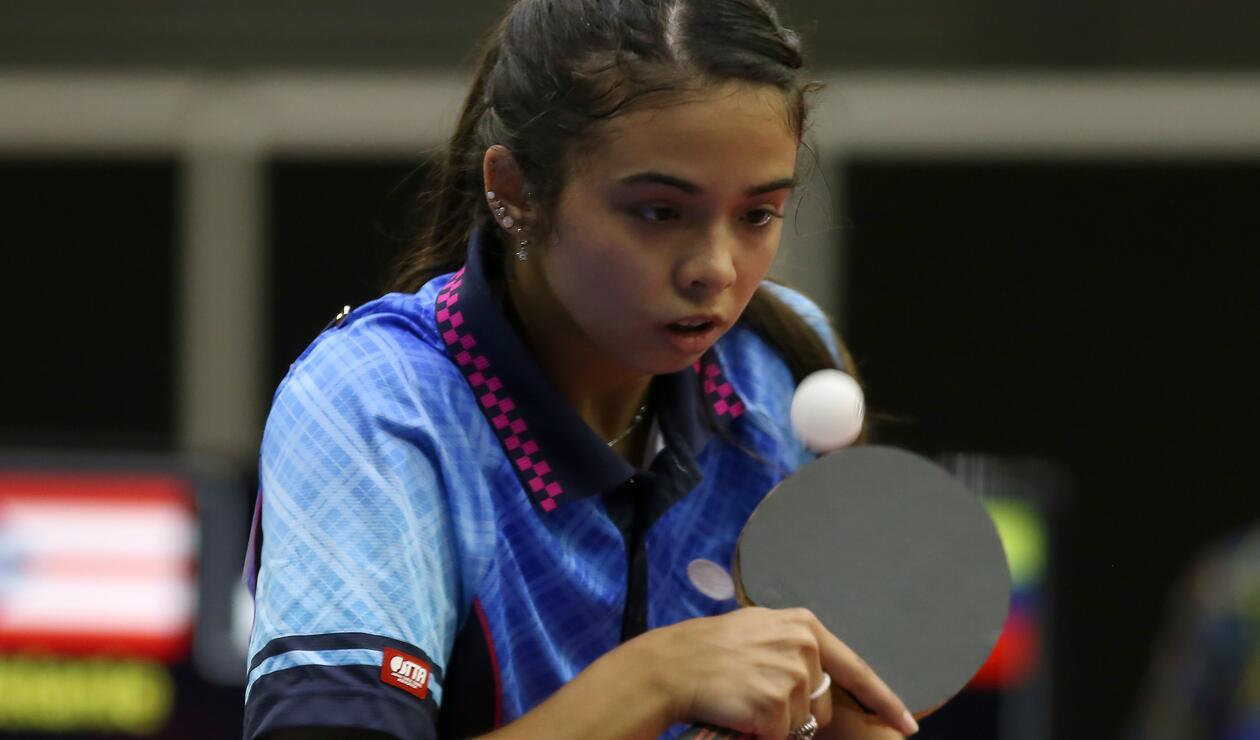 Melanie Díaz - Tenis de Mesa (Puerto Rico)