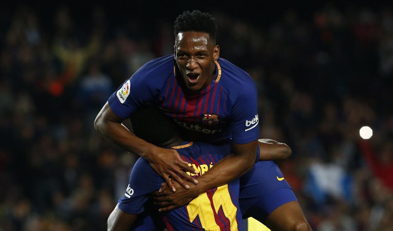 Yerry Mina no está en el listado de viajeros del Barcelona para gira en Estados Unidos