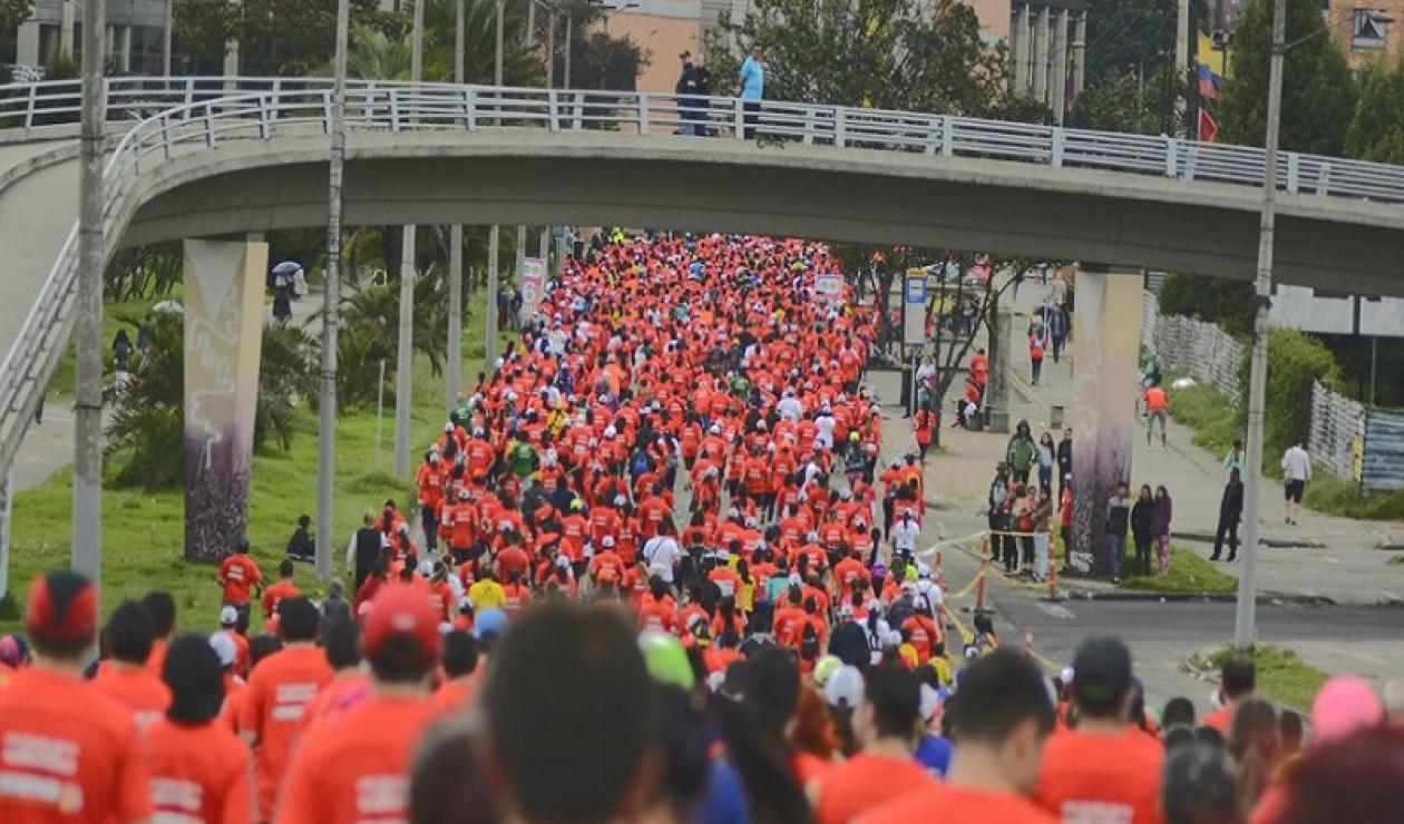 Tenga en cuenta los cierres viales por la Media Maratón de Bogotá